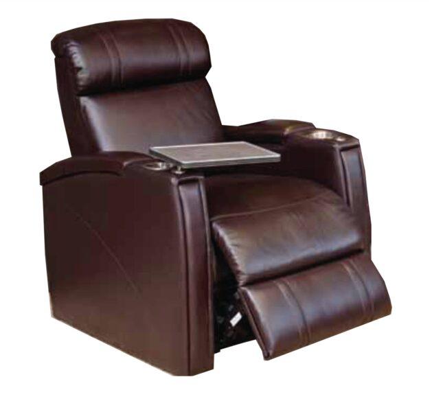 Emotion Furniture Pegar Fusion 1013 Cinema Seats – Leather Finish (Electric Recline)