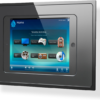 iRoom fixDock In-Wall iPad Dock - Black