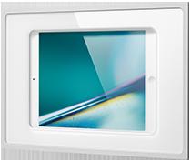 iRoom fixDock In-Wall iPad Dock - White