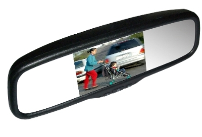 MONGOOSE LCD50C 5.0″ – clip-on mirror monitor