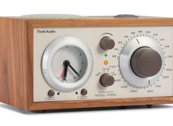 Tivoli Audio Model Three Desktop Alarm Radio Classic Walnut