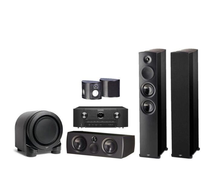 Marantz + Paradigm Premier 5.1 Complete Speaker System Package