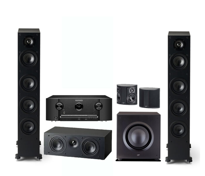Marantz + Paradigm 5.1 Complete Speaker System Package