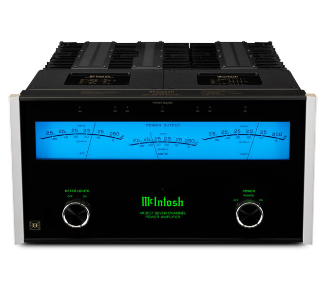 McIntosh MC257 7-Channel Solid State Amplifier