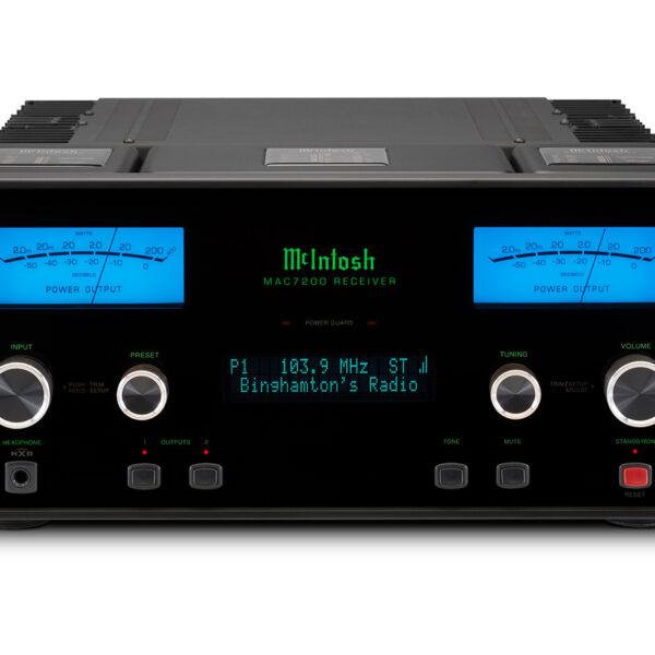 McIntosh MAC7200 2 x 200 Watt 2 Channel Receiver