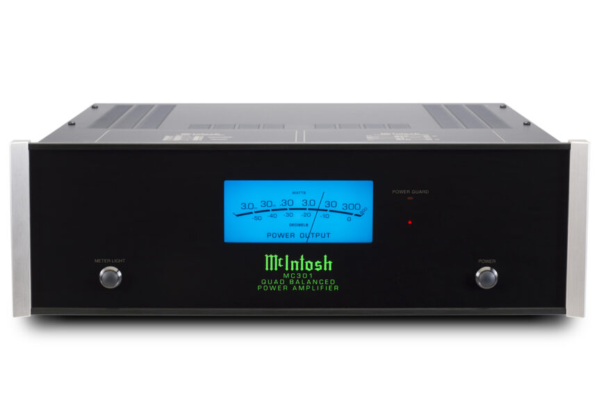McIntosh MC301 1 x 300 Watt Mono Power Amplifier