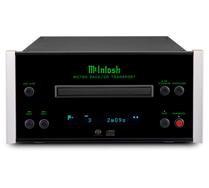 McIntosh MCT80 Compact Size CD Transport