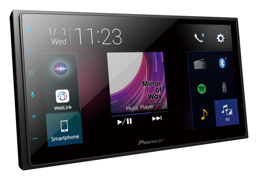 Pioneer DMH-Z5350BT 6.8″ Capacitive Touch-Screen|Apple CarPlay|Android Auto|Bluetooth