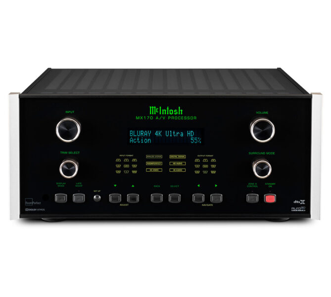 McIntosh MX170 15.1 Channel Atmos A/V Processor
