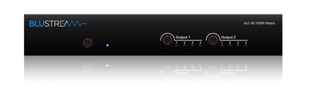 Blustream 4×2 HDMI Matrix Switcher
