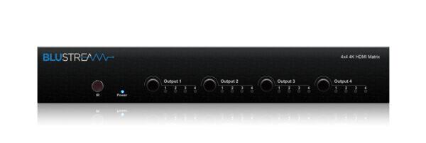 Blustream 4x4 HDMI Matrix Switcher