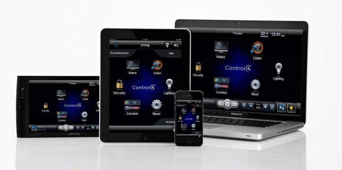 System Control via the App