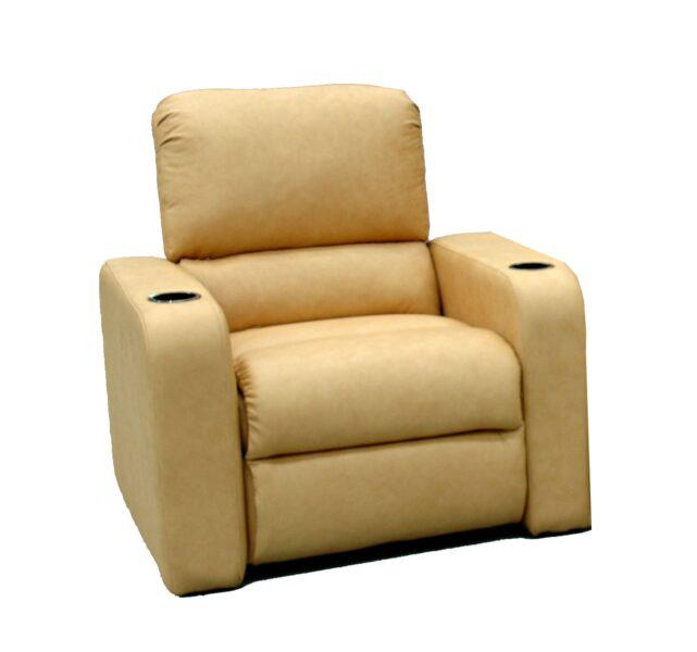 Emotion Furniture Oscar Series Cinema Seats – Suede Finish (Manual Recline)