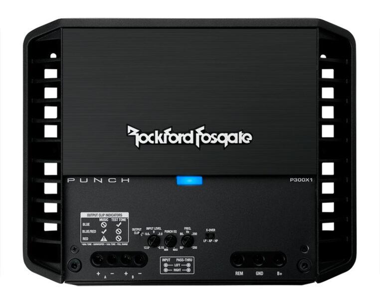 Rockford Fosgate P300x1 Punch Mono Amplifier
