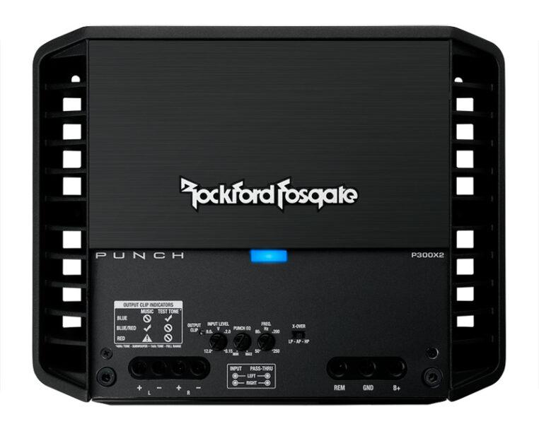 Rockford Fosgate P300x2 300 Watt 2-Channel Amplifier