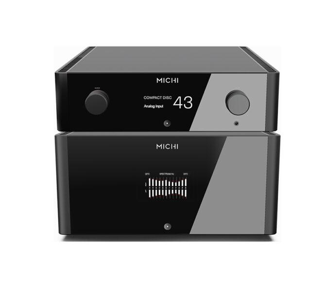 Rotel Michi P5 Pre-amplifier + S5 Stereo Power Amplifier