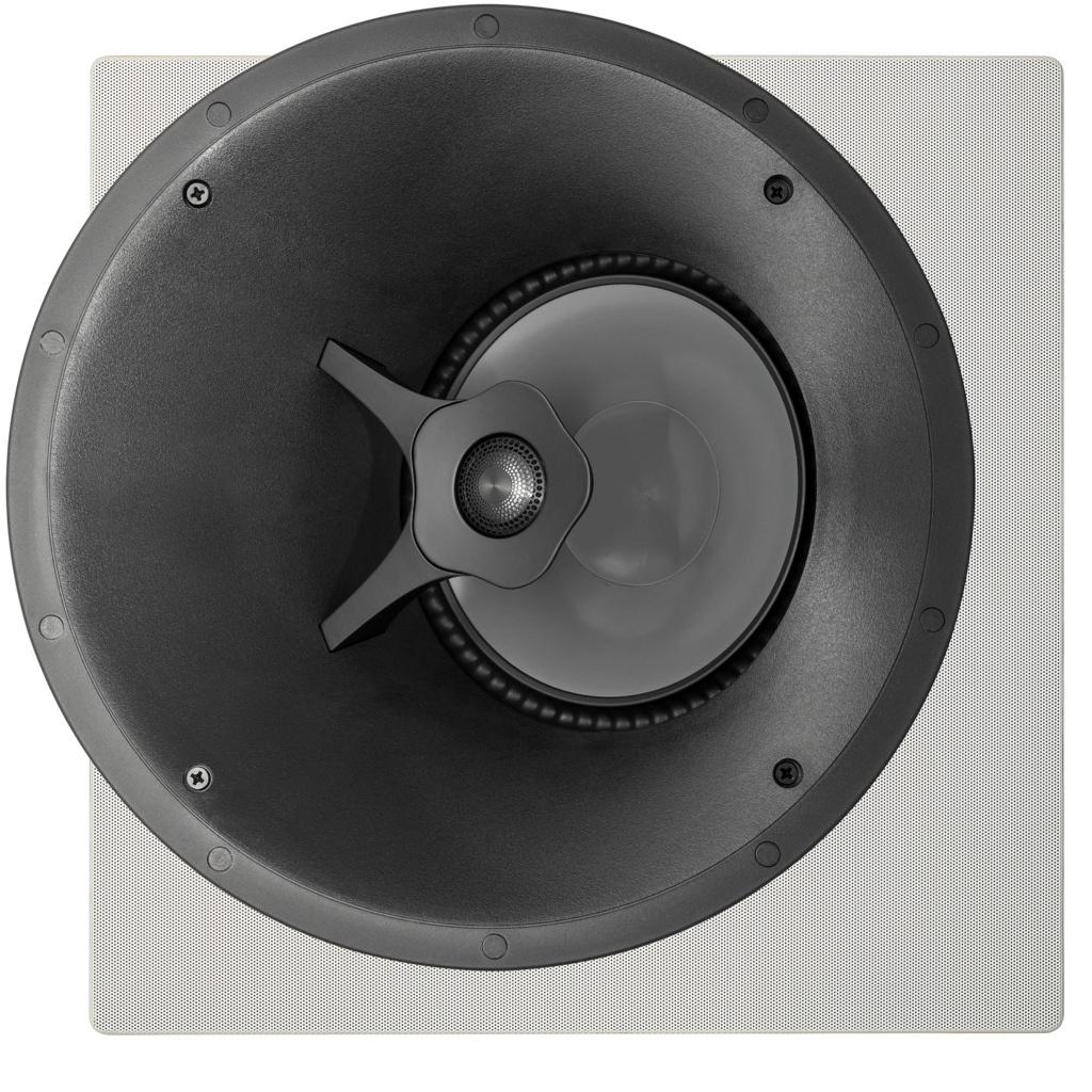 Paradigm CI Pro P-80A Angled In-Ceiling Speakers - Optional Square Grille