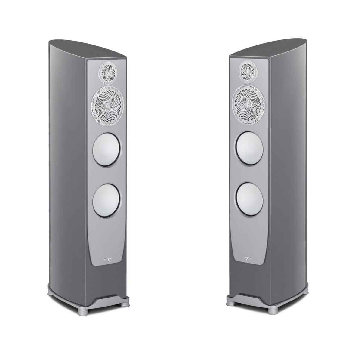 Paradigm Persona 3F Floor Standing Speakers - Metallic Gloss Sonic Silver