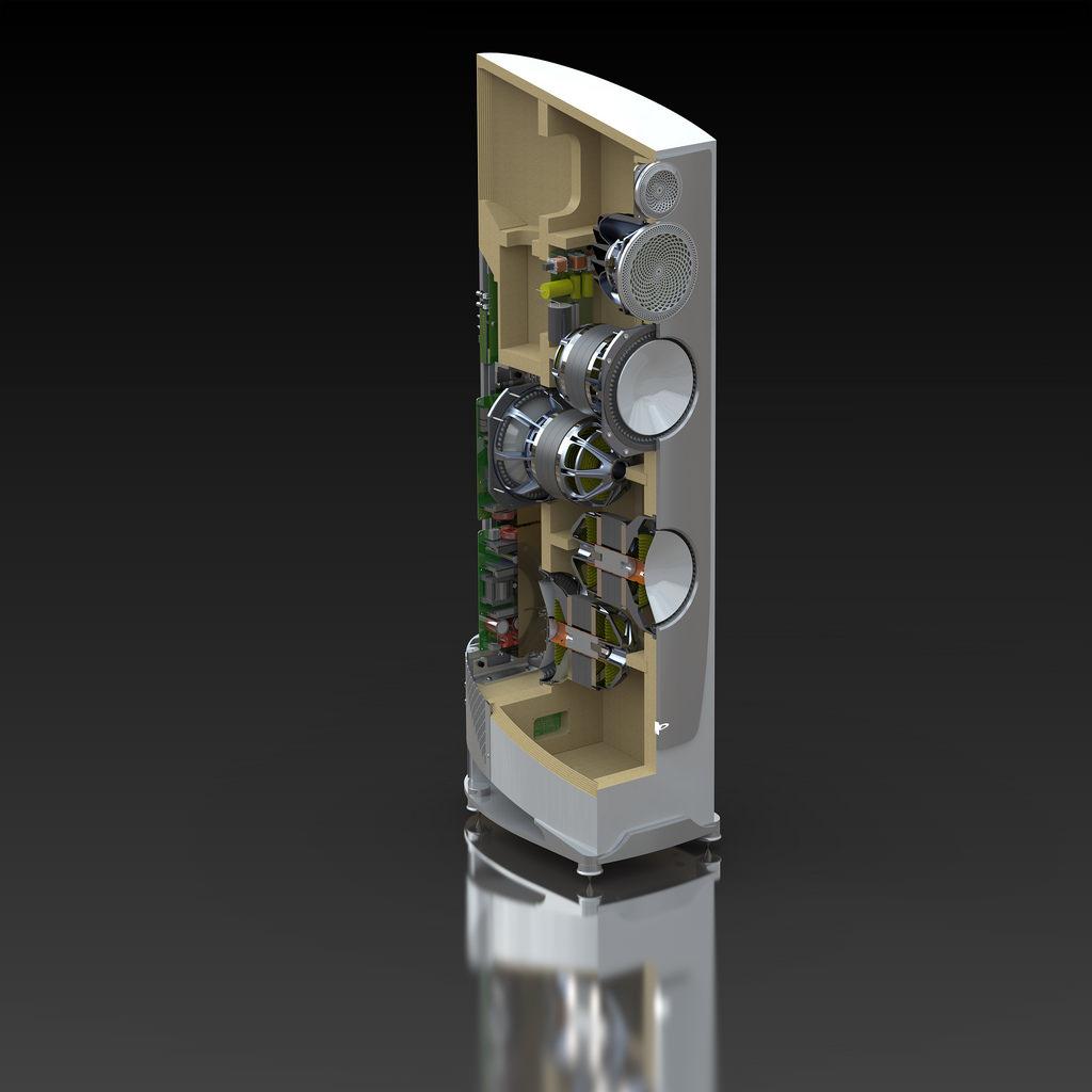 Paradigm Persona Series Speakers - Internal Cabinet View