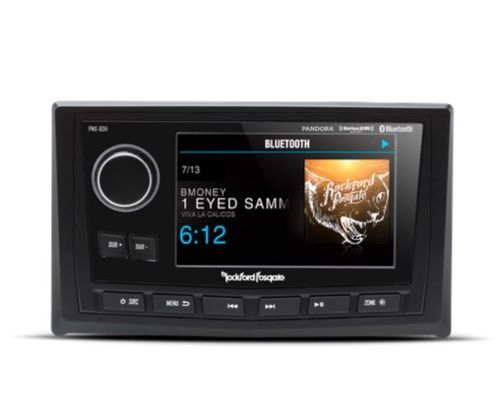 Rockford Fosgate PMX-8DH Punch Marine Full Function Wired 5″ TFT Display Head