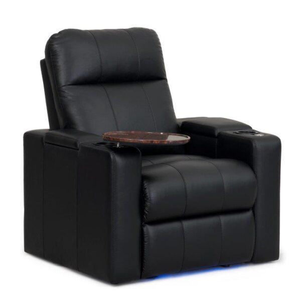 Row One Prestige Series Cinema Seats - Leather Finish (Electric Recline)