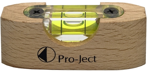Pro-Ject Level It Wooden Spirit Level for Turntables