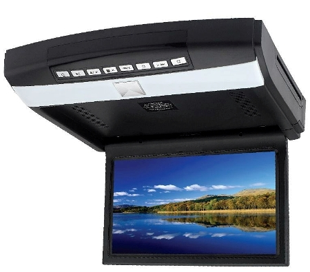 MONGOOSE Q350 10.2″ 10.2″ roof mount drop down DVD/CD/Games player