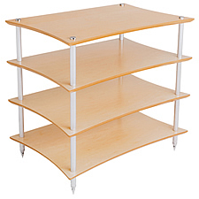 Quadraspire Q4L Large 4 Shelf Hi-Fi Equipment Rack