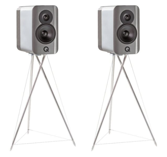 Q Acoustics Concept 300 Stand Mount Speakers & Matching Stands