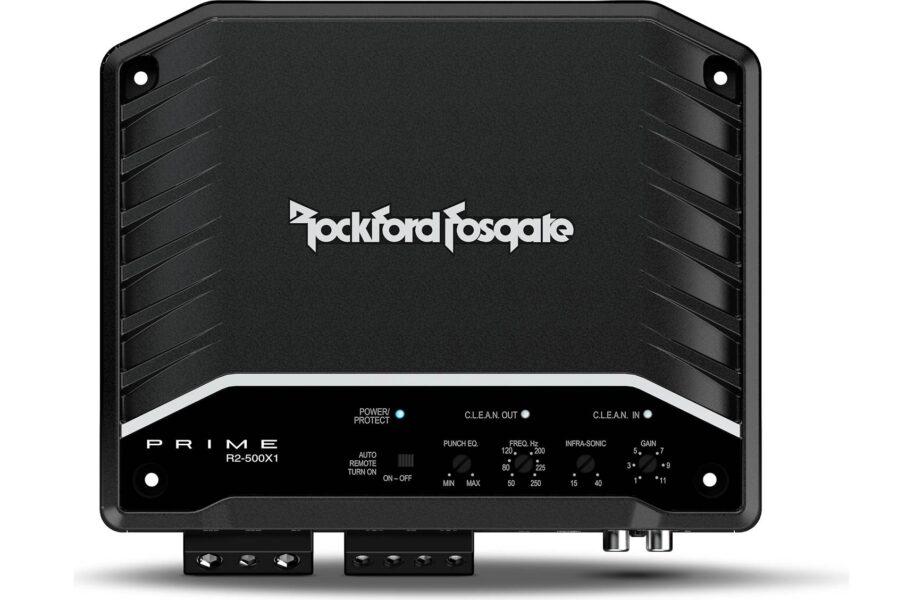 Rockford Fosgate R2-500X1 Prime 500 Watt Mono Amplifier
