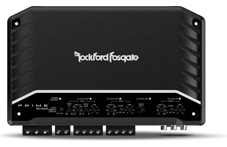 Rockford Fosgate R2-750X5 Prime 750 Watt 5-Channel Amplifier