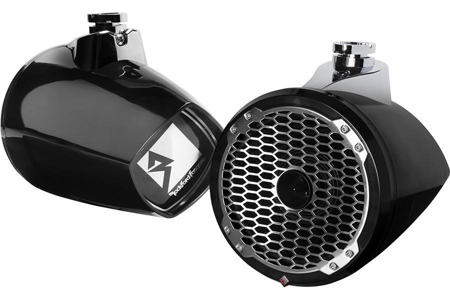 Rockford Fosgate PM282HW-B Punch Marine 8″ Wakeboard Tower Speaker – Horn Tweeter – Black