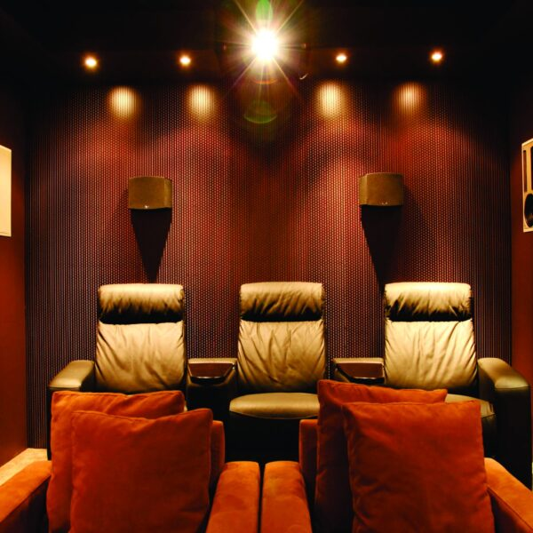 Manhattan Rear Wall Room Acoustic System with Absorption & Diffusion