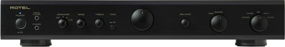 Rotel A10 Integrated Amplifier - Black