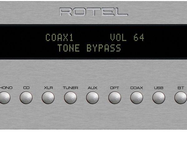 Rotel RC1572 Stereo Pre-Amplifier - Silver