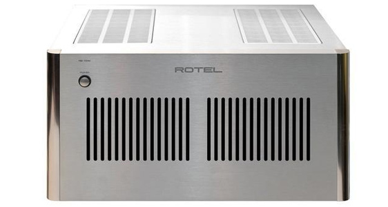 Rotel RMB1585 5 Channel Power Amplifier Silver