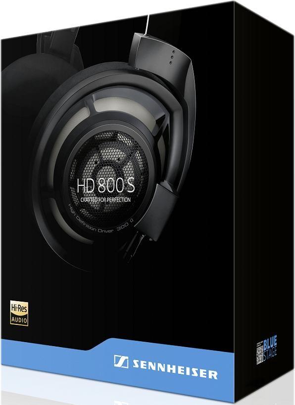Sennheiser HD800S Headphone Packaging