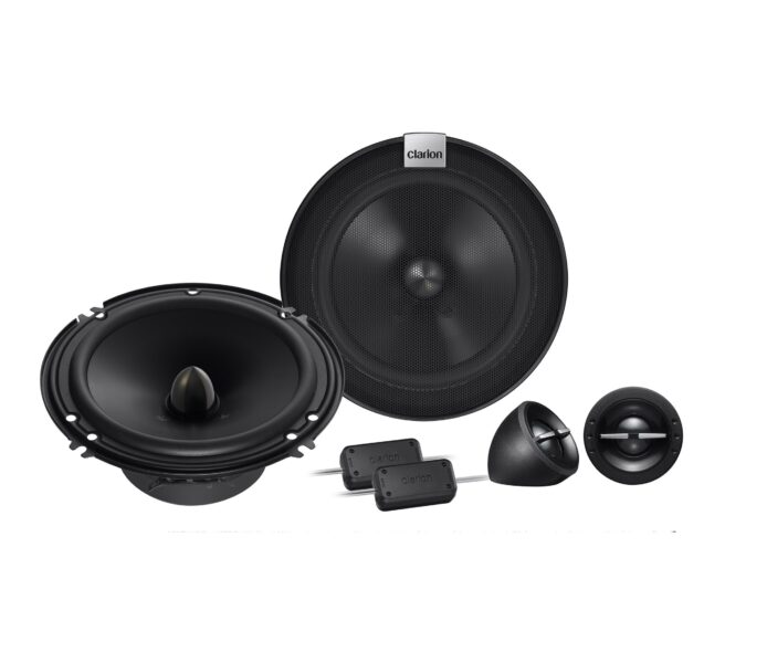 Clarion SH1624S 16 CM (6-1/2″) 2-WAY COMPONENT SYSTEM