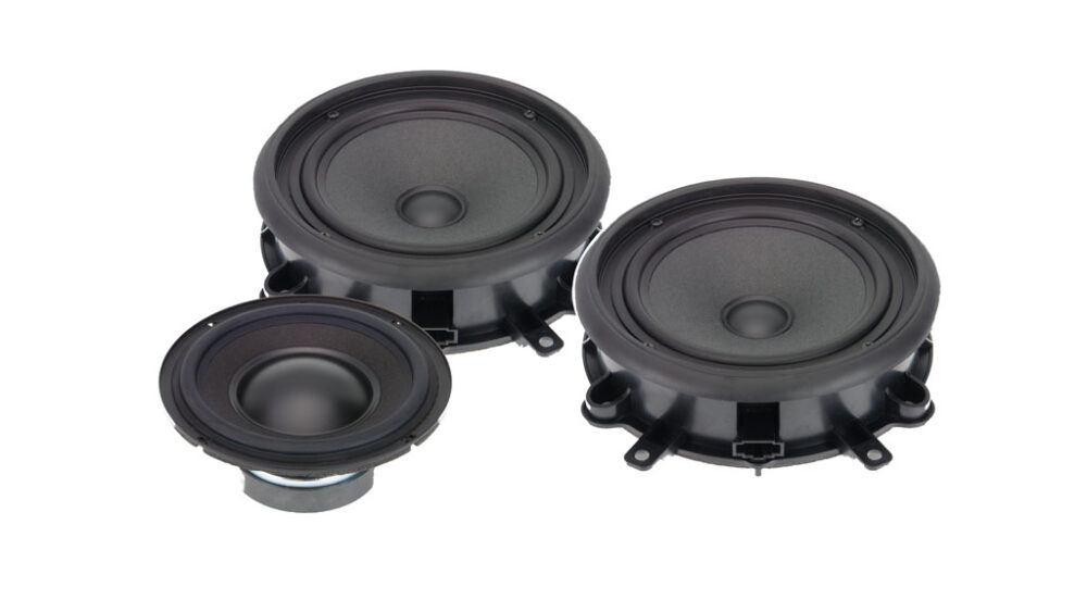 Alpine SPC-300A3 Audi A3 2-way High-end Front Speaker System Upgrade
