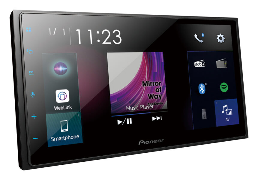 Pioneer SPH-DA250DAB 6.8″ Capacitive Touch-Screen|Apple CarPlay|Android Auto|Bluetooth|DAB+|Digital Tuner