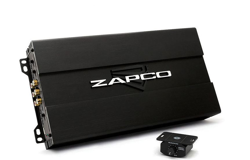 Zapco ST-204D SQ 4 Channel Class D SQ Amplifier