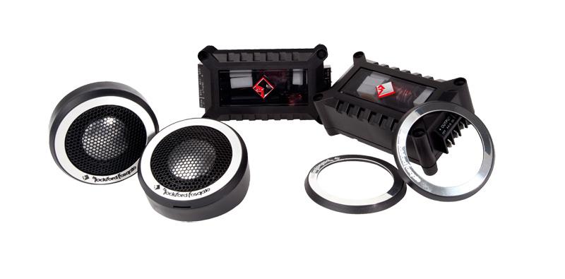 Rockford Fosgate T2T-S 1″ Aluminum Tweeter Kit