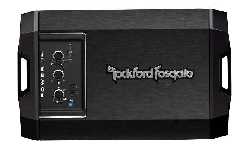 Rockford Fosgate T400X2ad 400 Watt Class-AD 2-Channel Amplifier