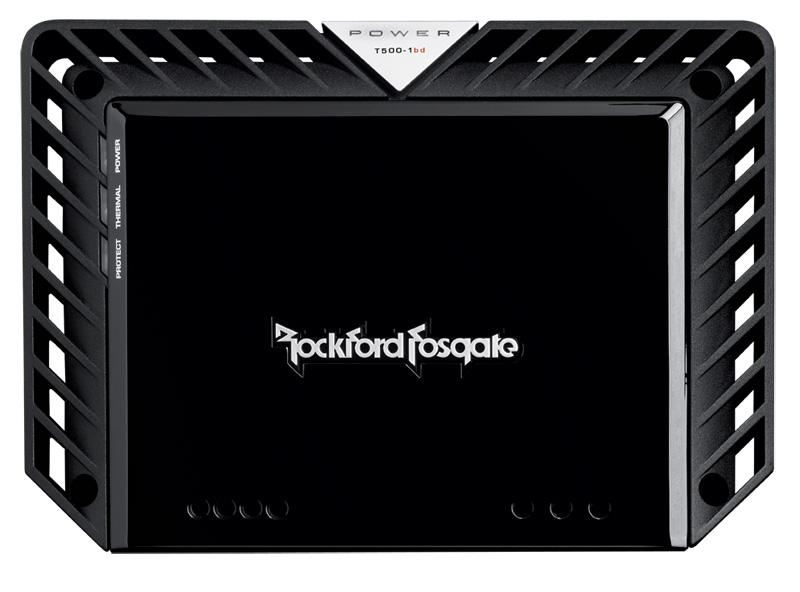 Rockford Fosgate T500-1bdCP 500 Watt Class-bd Constant Power Amplifier