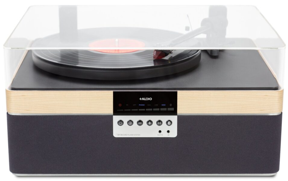 +Audio The +Record Player Special Edition Turntable with Built-in Speaker System