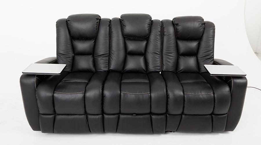 Emotion Furniture Pegar Transformer Cinema Seats – Leather Finish (Electric Recline)