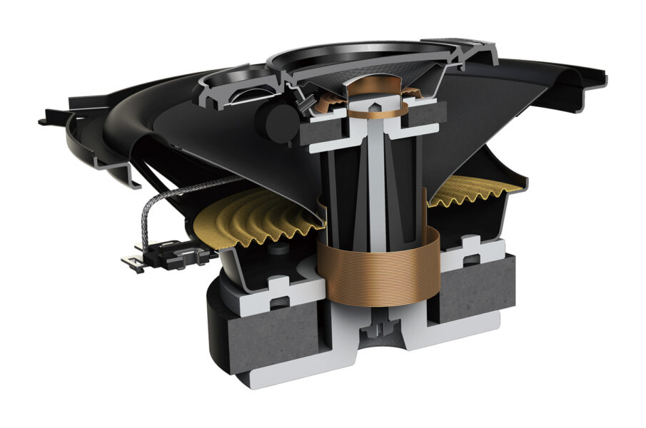 "Pioneer TS-A1370F 5"" (129mm) 3-way Speaker System 300W"