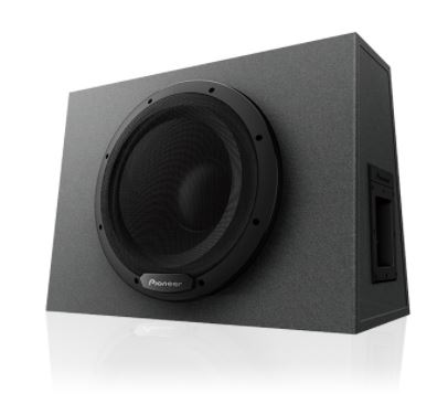 """Pioneer TS-WX1210A 12"""" Sealed Enclosure Active Subwoofer Built-in Amplifier (1300W Max)"""