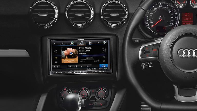 Alpine Audi TT 7″ Navigation INE-W987D