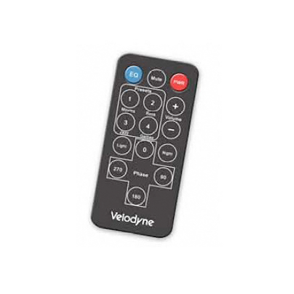 Velodyne SPL Subwoofer Remote Control